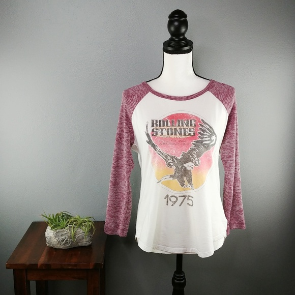 Urban Outfitters Tops - Urban Outfitters | Rolling Stones tour 1975 tee